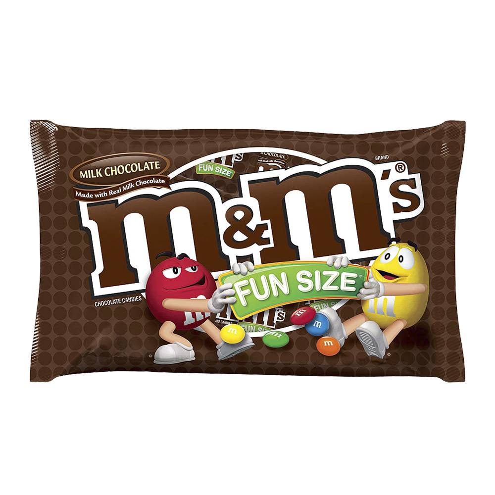 M&M Fun size - candy crazy